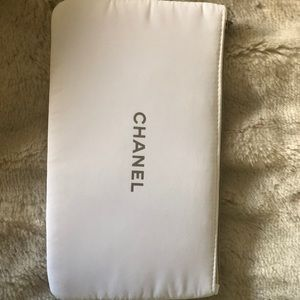 CHANEL Bags - Chanel cosmetic case in cotton
